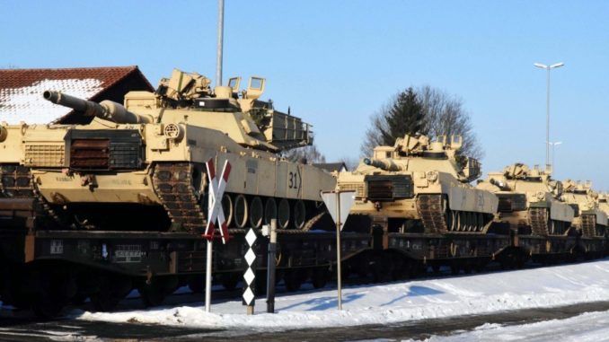Reliable German source reports massive US Army movements eastward toward Russia