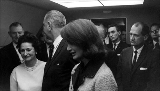Albert-Thomas-LadyBird-LBJ-Jackie-Kennedy-Air-Force-One
