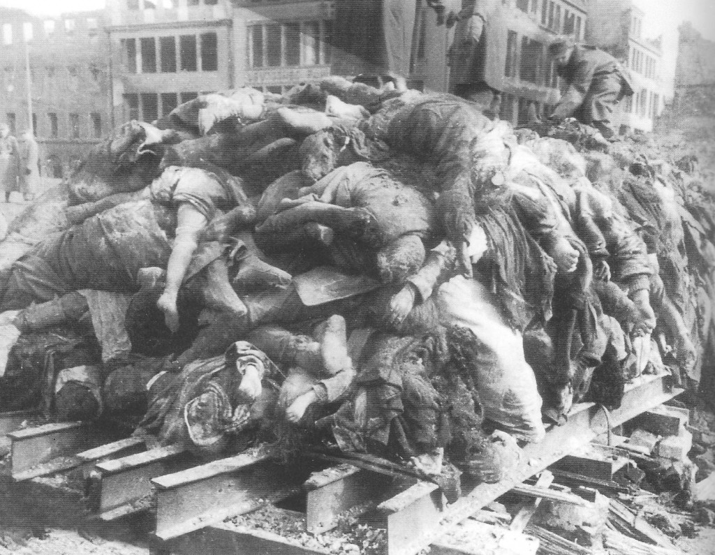 Russians collected bodies 3 weeks after Dresden