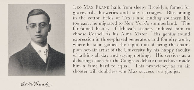 leo-frank-the-gas-jet-cornell-yearbook