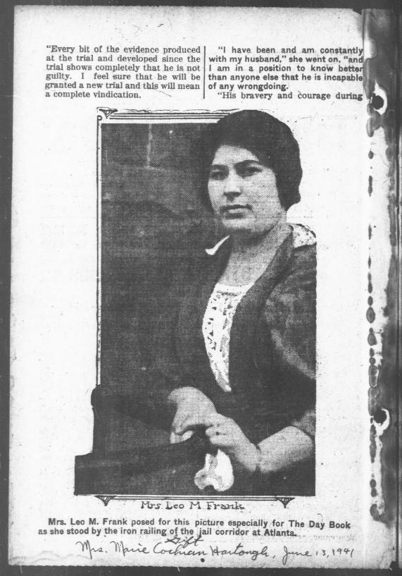 mrs-lucille-selig-frank-article-photo