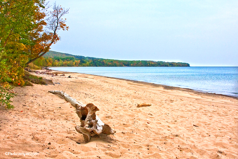 porcupine-mountains-state-park-beach