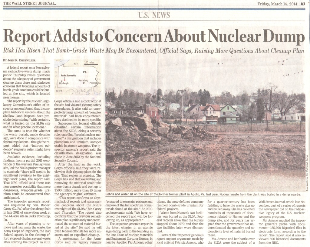 wsj-article-numec-nrc-report-march-14-2014