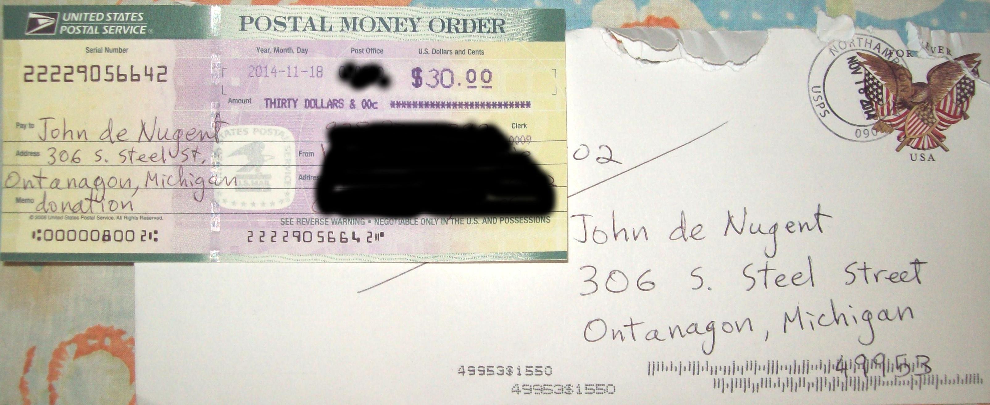 30dollarsuspsmoneyorder Money Order Cashier's Check Samples