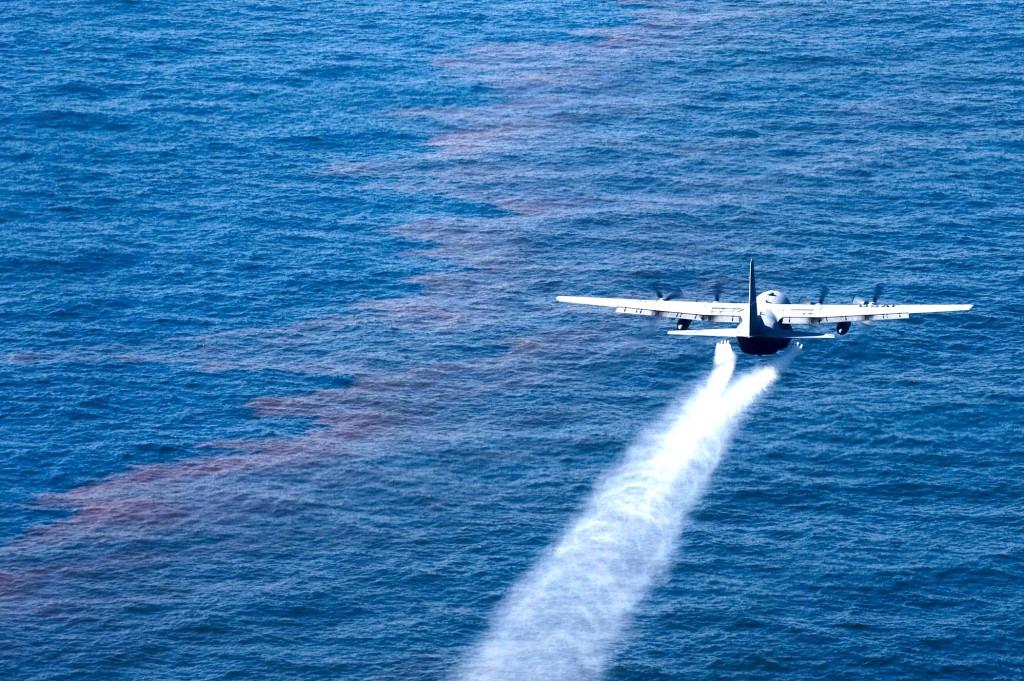 Fighting the oil slick