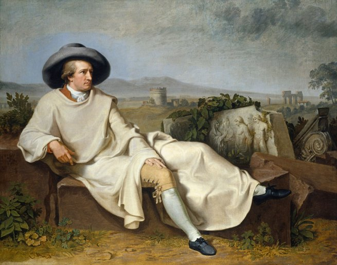 Goethe-in-Roman-countryside-1787-Tischbein