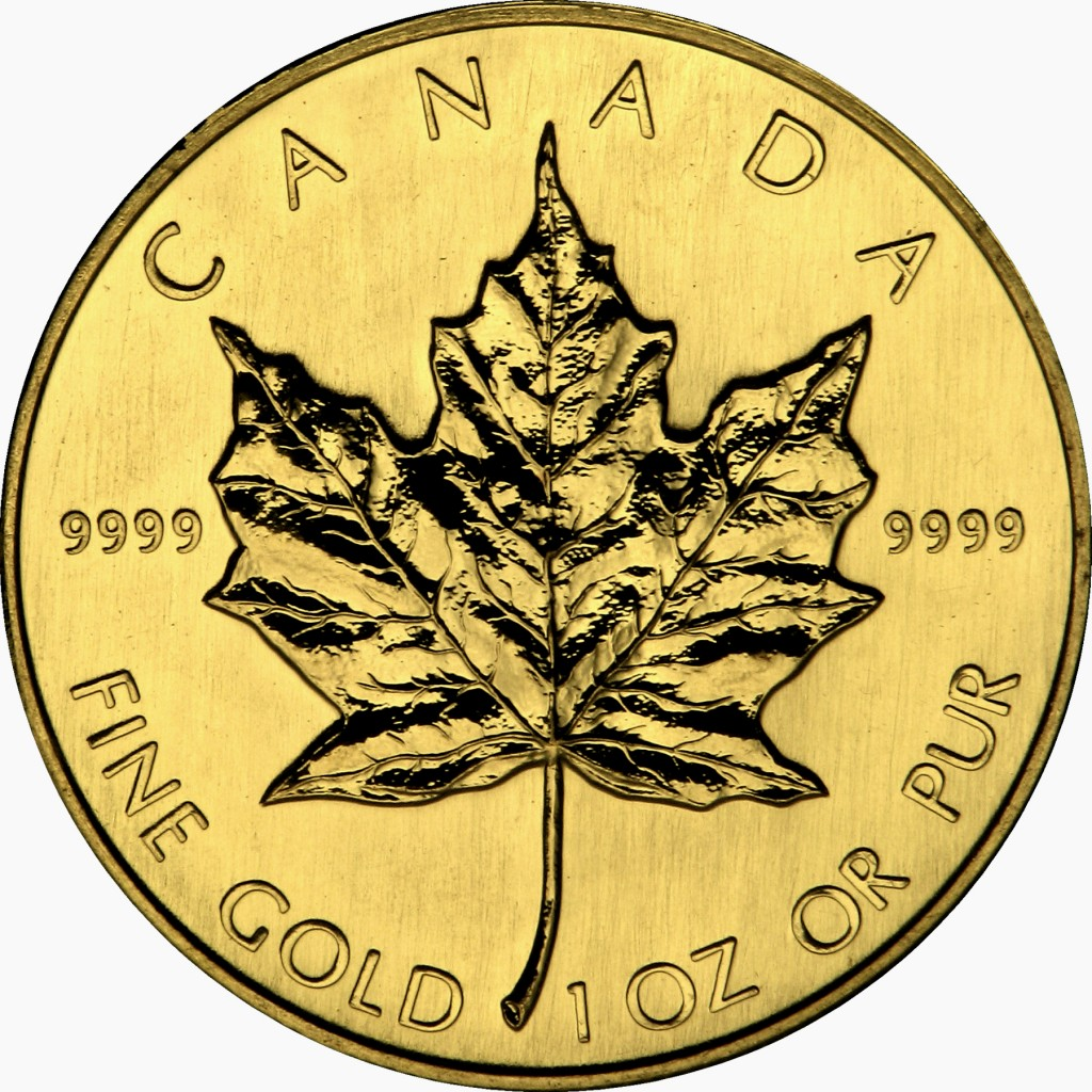 Gold-Canadian-Maple-Leaf-reverse
