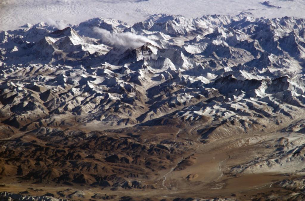 Himalayas-aerial-shot