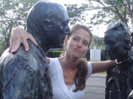 Ingrid bronze statues