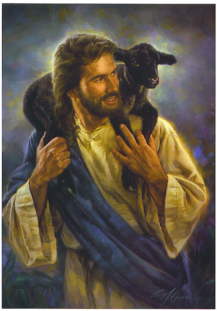 Jesus-Picture-Holding-Black-Lost-Sheep
