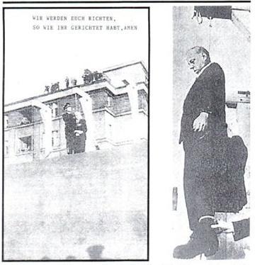 Josef Pitzner hanging