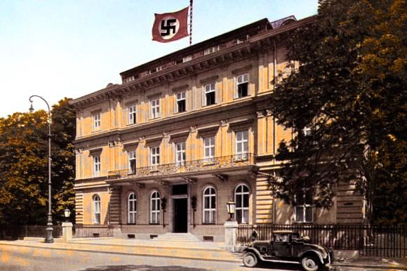 Muenchen-Braunes-Haus-um-1935-PK