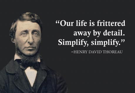 Thoreau-Simplify