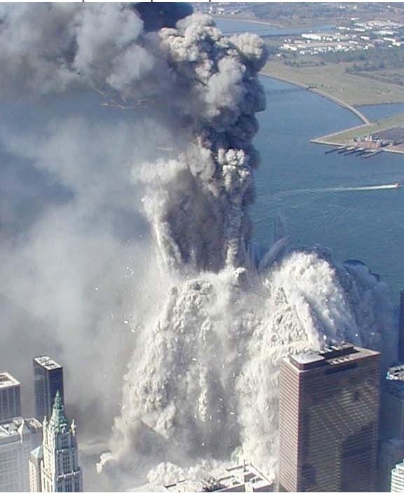 WTC pulverizing