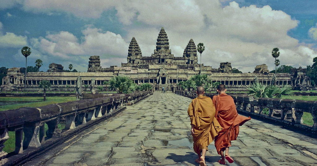 Britain's Graham Hancock on the Great Pyramid and Angkor Wat; the gods that were not