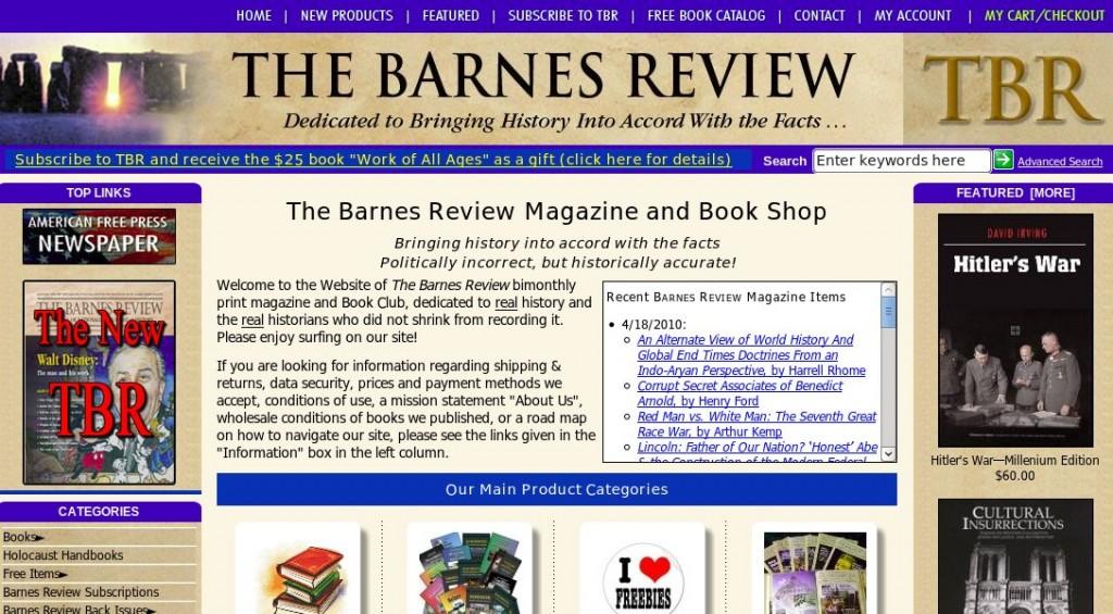 barnes-review-website
