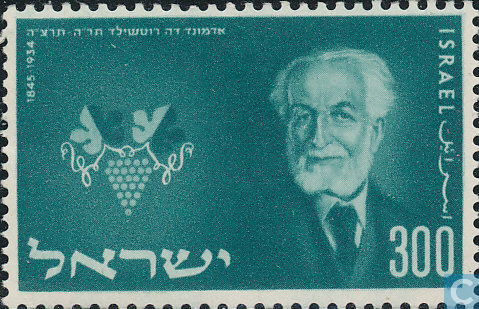 baron-rothschild-stamp-1954-israel