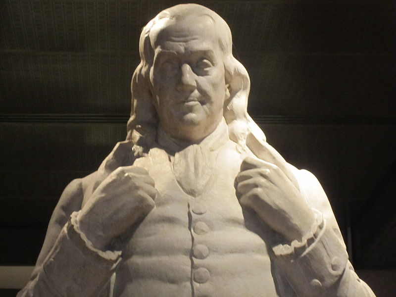 benjamin-franklin-statue-national-portrait-gallery