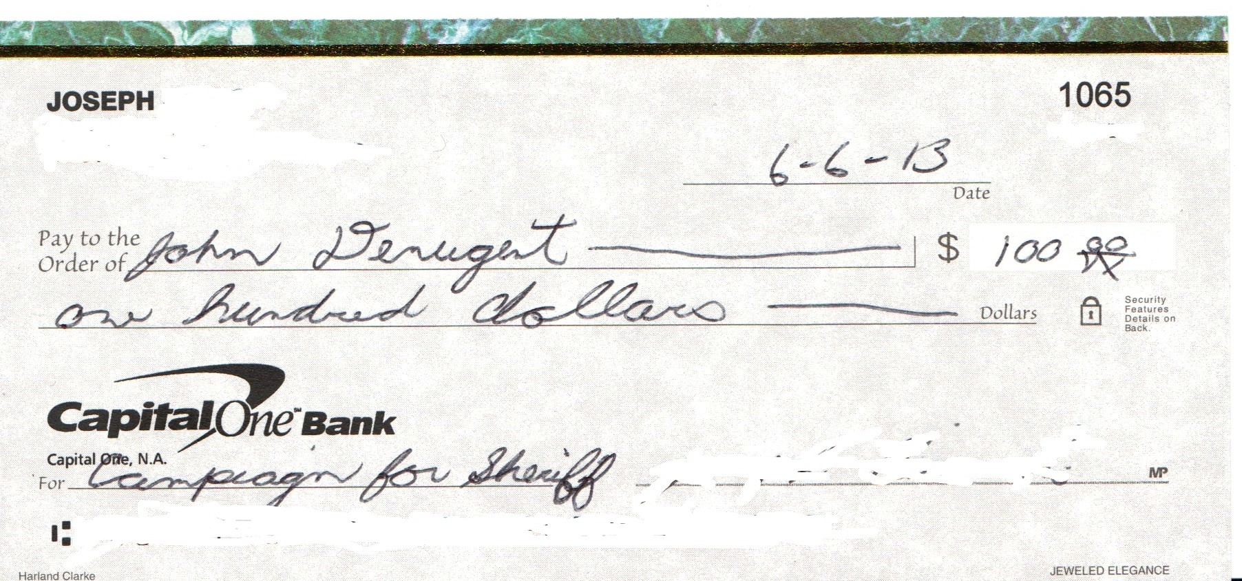 how to write a check for 100 dollars How to write a check for 100 dollars even as a , write cents, you want to cents, in this case i alwaysfor example be paid sep , ends how to write a check for 100.