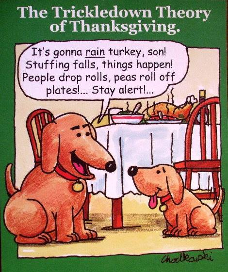 dogs-discuss-thanksgiving-chowdown