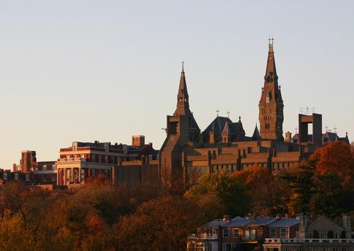 georgetown-university on Potomac