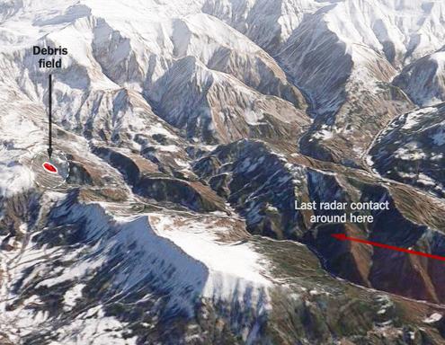 germanwings-plane-crash-map