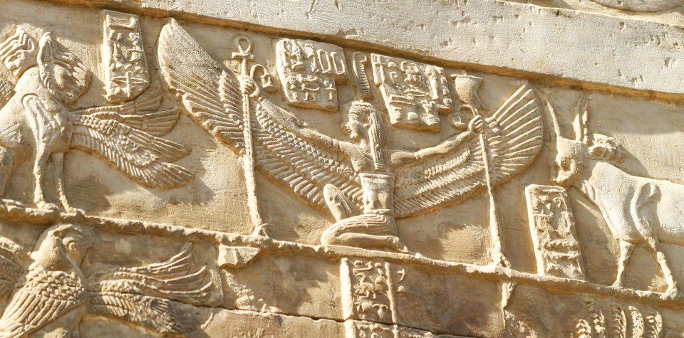 goddess-isis-relief-ptolemaic-temple