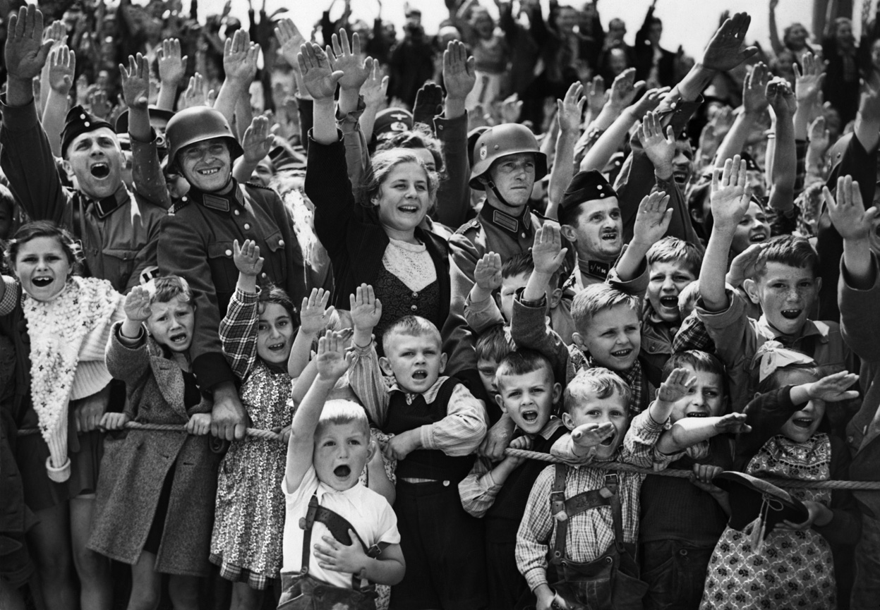 hitler as a foreseen disaster for the nation of germany