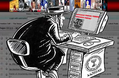 Image result for MOSSAD LIES CARTOON