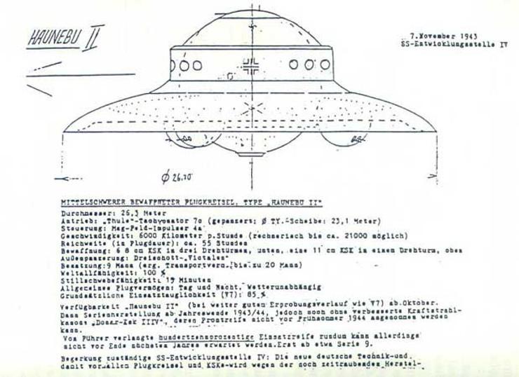 haunebu-II-technical-info