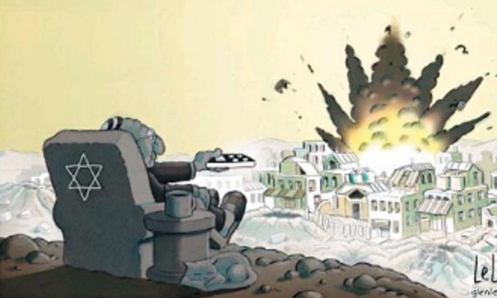 israeli-uses-remote-zap-gaza