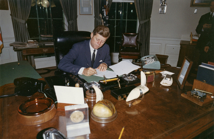 English two radio shows with me on johnson killing kennedy lbj s jewish mother and operation - Jfk oval office desk ...