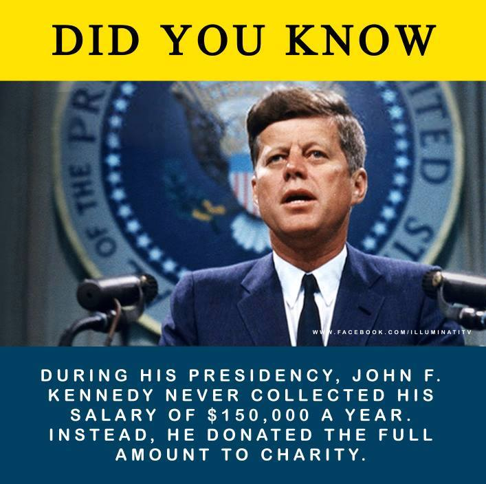 jfk-never-collected-salary
