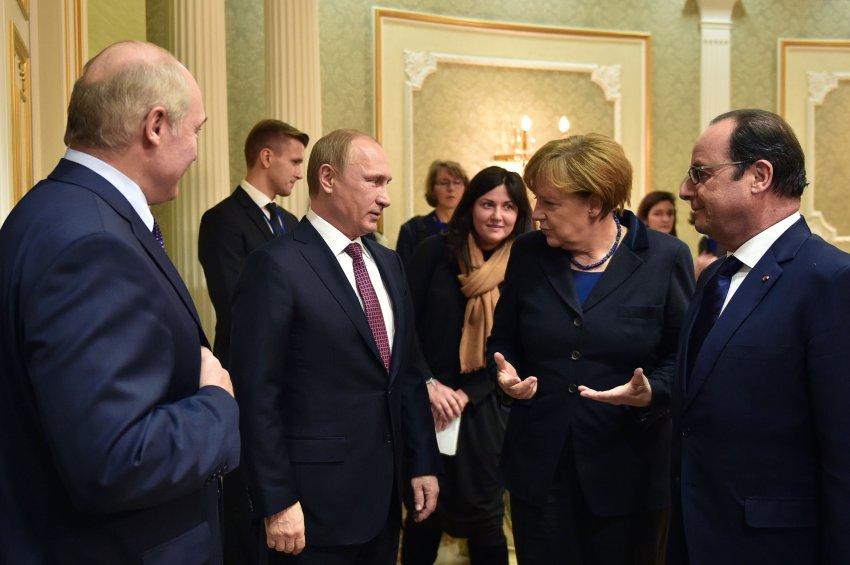 BELARUS-UKRAINE-RUSSIA-CRISIS-TALKS-GERMANY-FRANCE