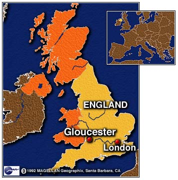map-gloucester-england
