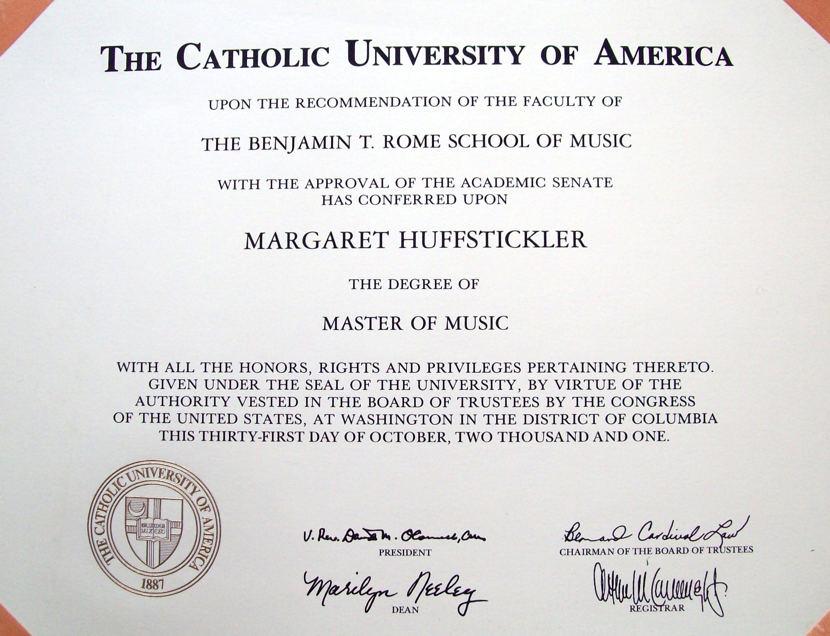 margaret-2001-masters-diploma-catholic-university-america