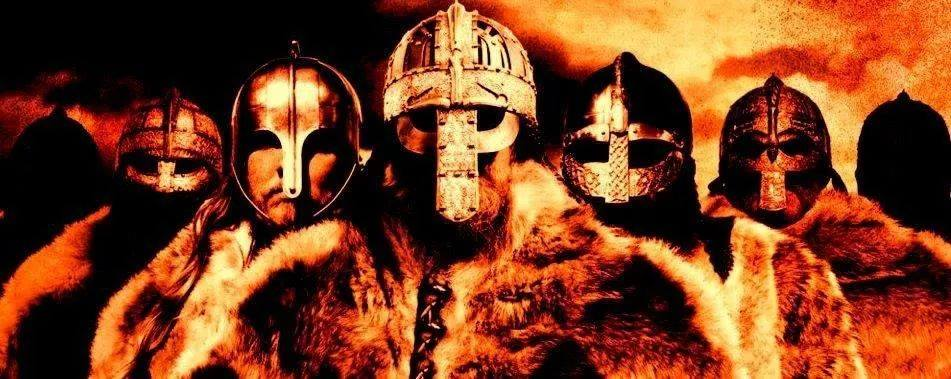 medieval-warriors-helmets-furs-orange
