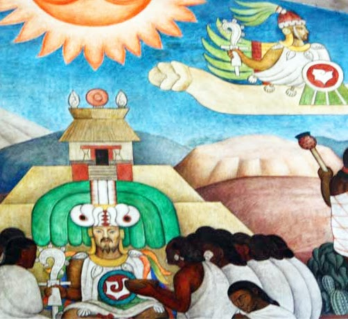 mural-legend-of-quetzalcoatl-palacio-nacional-diego-rivera