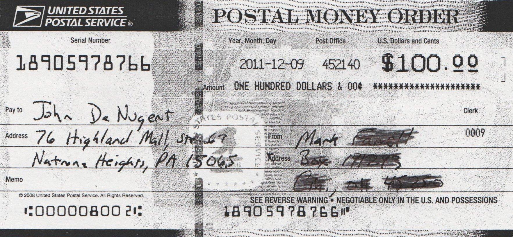 How To Fill Out A Moneygram Money Order €�sending
