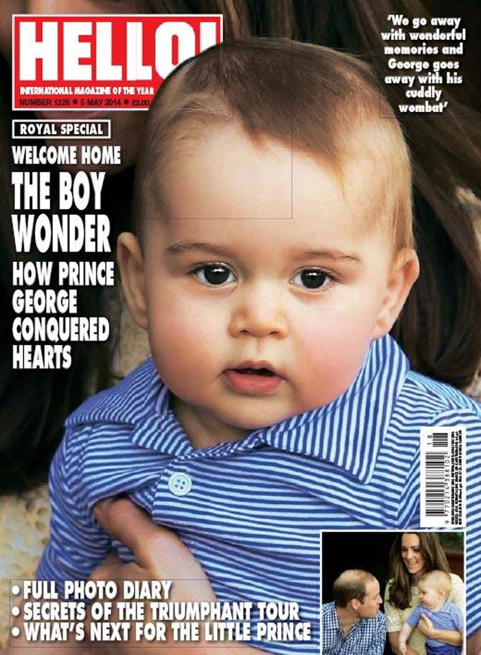 prince-george-magazine-gushes
