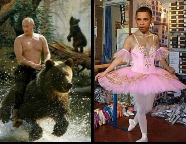 putin-on-bear-obama-in-tutu