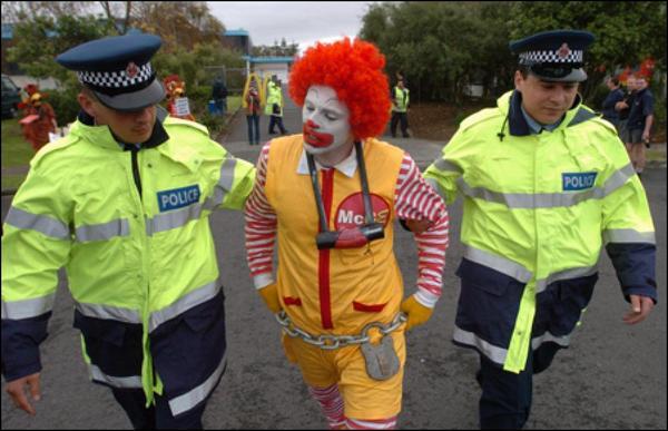 ronald-mcdonald-arrested