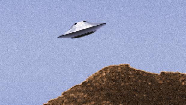 silver-UFO-rising
