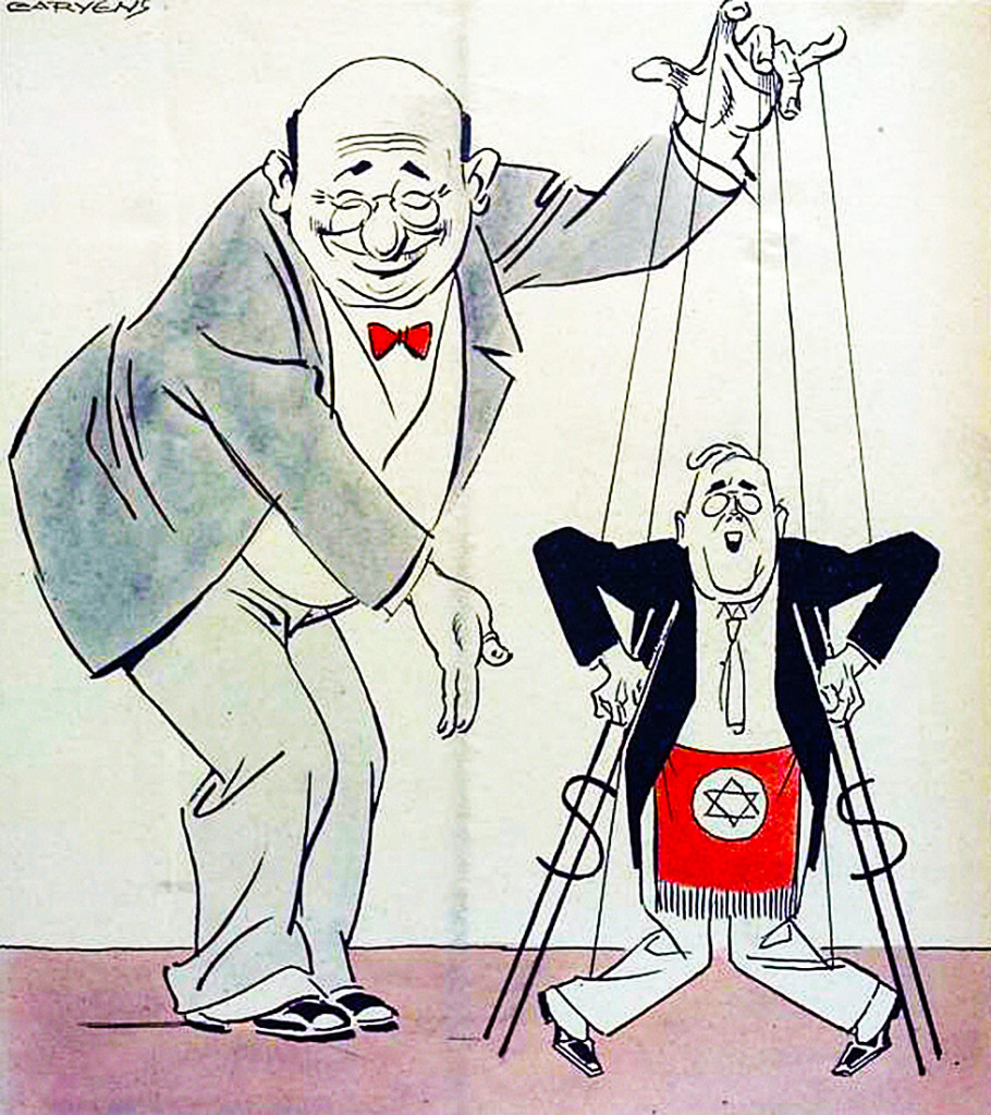 stuermer-COLOR-jew-marionette-fdr-dollar-crutches-masonic-apron