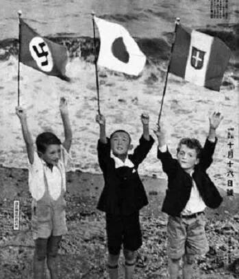 three-kids-axis-flags-german-japanese-italian