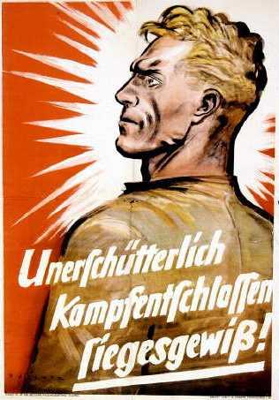 unerschuetterlich-kampfentschlossen-siegesgewiss-sa-poster