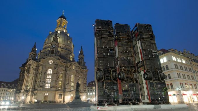 Bombing Of Dresden Art